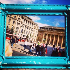 The weather's been good to us! #YAGgen Dundee City Square #framingdundee