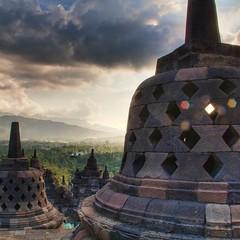 Borobudur #Buddhist Masterpiece. #Bali Floating Leaf Eco-Retreat http://balifloatingleaf.com #Yoga #Travel #spa #surf #Eco #Retreat #sustainable #Wellness #Healthy #Meditation #Permaculture #Organic #BaliYoga #YogaRetreat #detox #fun #Food #Beach #Beauty