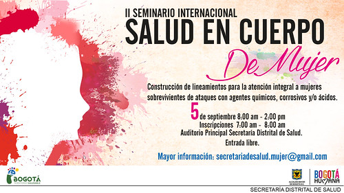 II Seminario Internacional Salud en Cuerpo de Mujer 2014