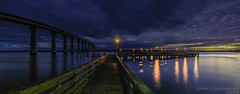 47/365, '48', Fishing Pier Falling Into Night