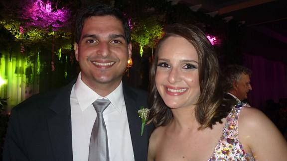 Moraes Neto e Raquel Pinheiro Moraes
