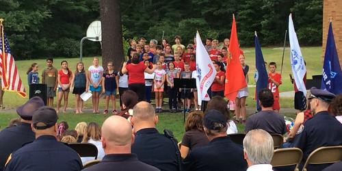 9/11 Ceremony at Pine Glen