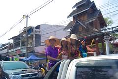 Songkram in Chiang Mai, Thailand