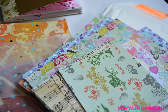 Small pieces of pretty paper