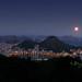 Lua Cheia Tropical - Vista Chinesa - Rio de Janeiro #Lua #Fullmoon #Rio #Brasil by .**rickipanema**.
