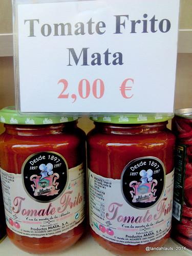El tomate frito...