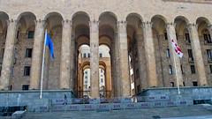 Budynek Parlamentu, Aleja Rustaveli, Tbilisi.