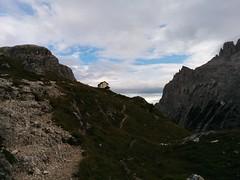 Blick zurück auf die Zsigmondyhütte