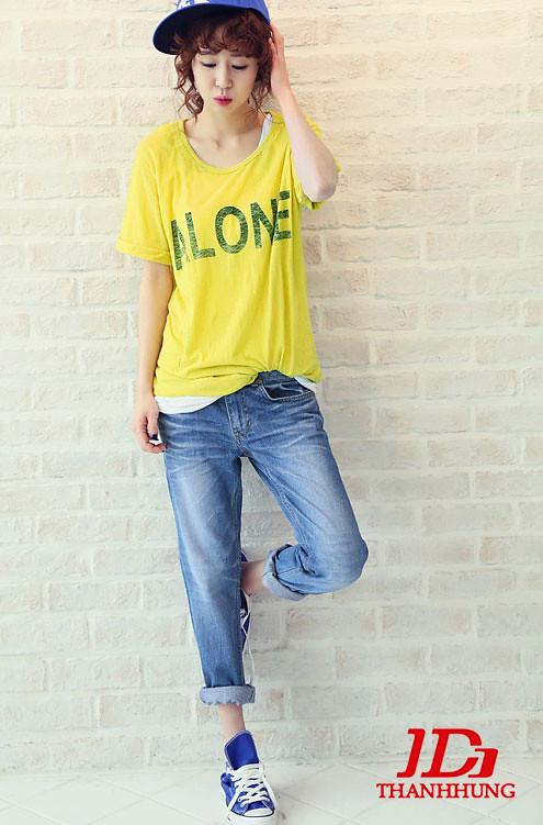 Mẫu quần jeans boyfriend nữ đẹp CỰC chất 10