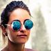Chi porta gli occhiali a specchio non ha diritto di arrabbiarsi se la gente lo fissa dritto negli occhi e poi comincia ad aggiustarsi i capelli. (Hal Rubenstein ) by Luca Cavallin