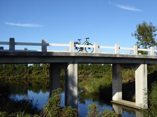 old bridge - new bike