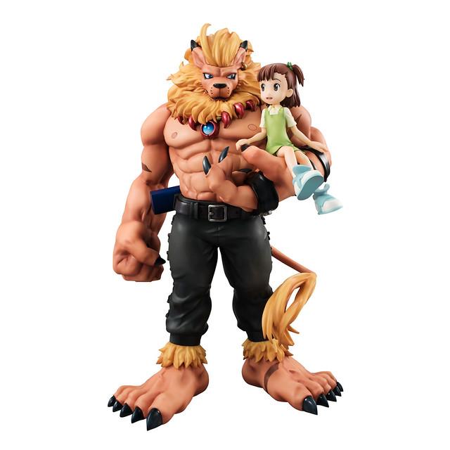 我已經不想再看到任何人為此犧牲了... G.E.M. 《數碼寶貝03馴獸師之王》獅子獸&加藤樹莉