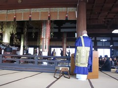 Photo:priest seating, shokakuji 650 years By anthroview