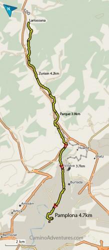 Larrasoana-to-pamplona-map-218x500