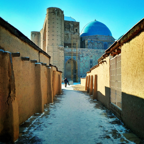turkistan southkazakhstanregion kazakhstan kz turkestan khojaahmedyasawi ahmedyasawi khoja ahmed yasawi memorial mausoleum blue 20161130