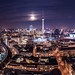 Berlin - Supermoon Panorama by 030mm-photography