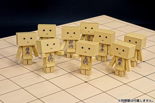 【官圖更新】用來下棋剛剛好!海洋堂《膠囊Q博物館》轉蛋阿楞 將棋ver. カプセルダンボー 将棋ver.