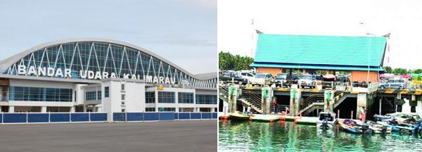 Bandara & Pelabuhan Berau