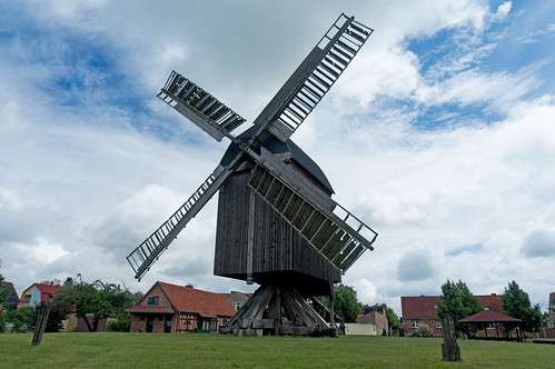 Windmill in Grieben, Germany