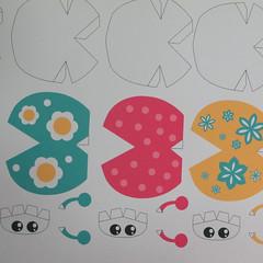 วิธีทำโมเดลกระดาษรูปเต่าทองแบบง่ายๆ (Easy Ladybug Papercraft Model) 001