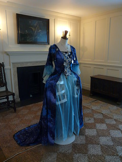 Gown by Karen 'Lady Elsie' Grover, 'Longitude Punk'd', Royal Observatory Greenwich