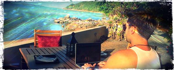 Ad Hock Beach Cafe, Bo Phut, Koh Samui, Tailândia