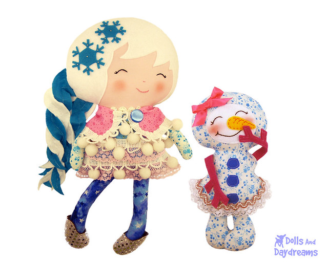 snow sister & her snow girl <3