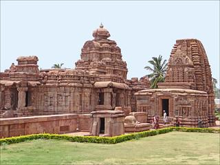 Image of Pattadakal Temples. india temples inde virupaksha hindouisme pattadakal dalbera patrimoinemondialdelunesco kashivishvanath templesshivaïtes