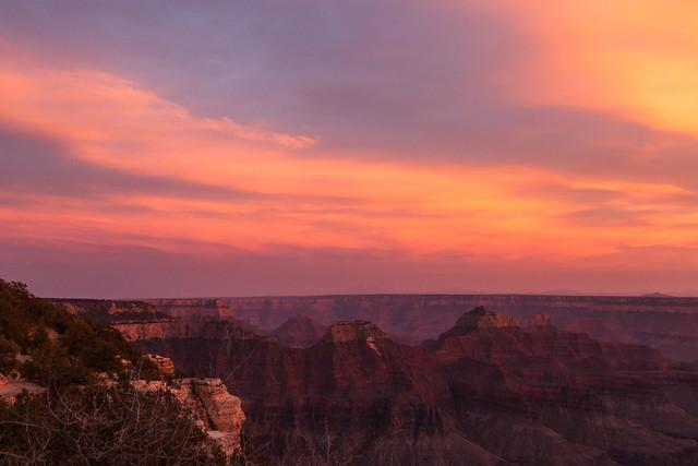 Grand Canyon - North Rim Sunset