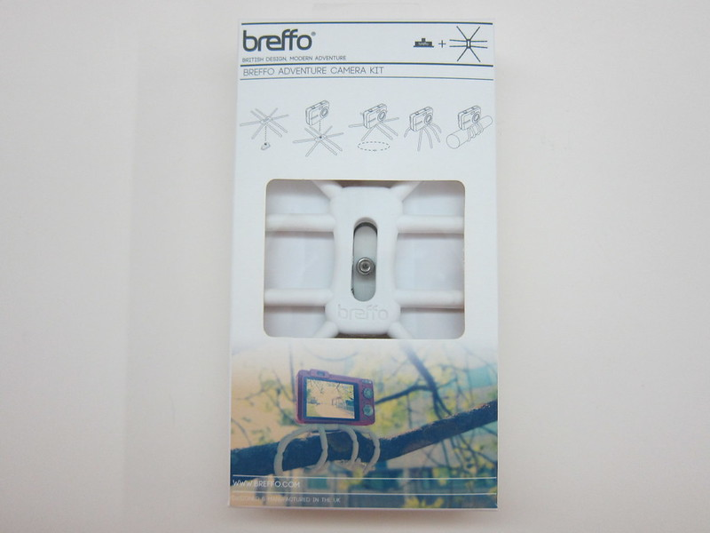 Breffo Adventure Camera Tripod - Box Front