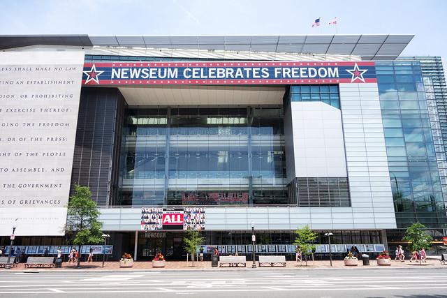 Newseum, Washington DC.