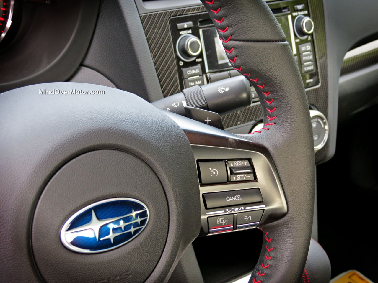 2015 Subaru WRX Paddle Shifters