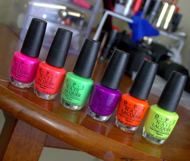 OPI OPI Full-Size Neon Nail Polishes
