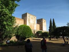 The Alcazaba (fortress) of The Alhambra - Granada, Spain