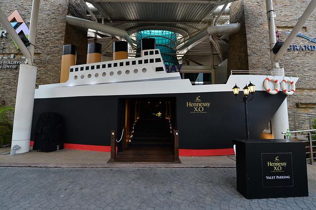 Entrance to Hennessy X.O Appreciation Grows Dinner JB 2014