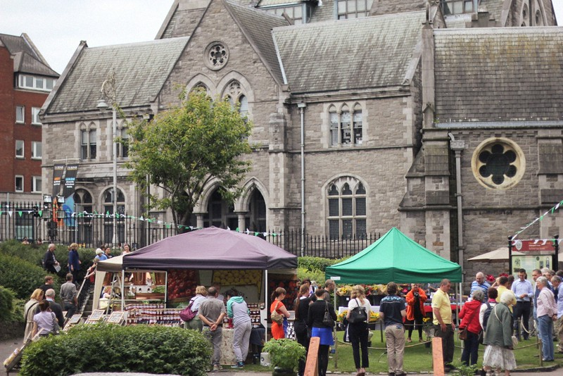 dublin garden festival christchurch cathedral