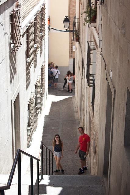 Toledo Spain narrow streets