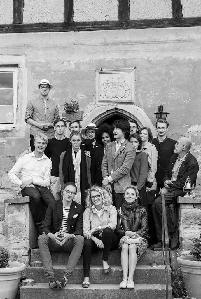 Gruppenfoto sw
