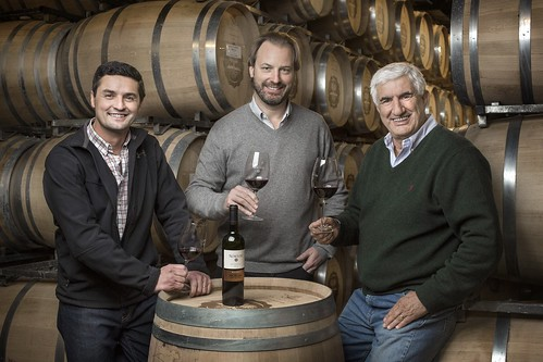 David Bonomi, Michael Halstrick - Presidente y CEO de Bodega Norton- y Jorge Riccitelli 1