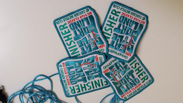 Finisher badges!