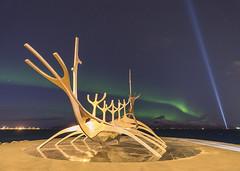 'Sólfar, & Imagine Peace Tower' - Reykjavik, Iceland