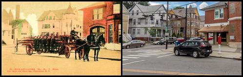Corner of Hope & Olney Streets by Eric Harrison, via I {heart} Rhody