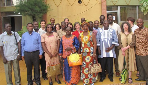 Participants of the Burkina Faso small ruminants value chain strategy and implementation planning workshop, 14-15 July 2014