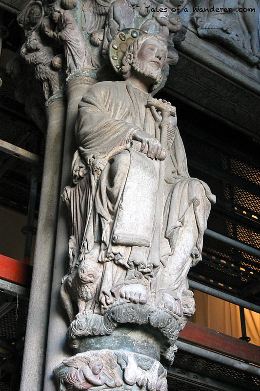SANTIAGO DE COMPOSTELA - Catedral de Santiago de Compostela - Pórtico da Gloria
