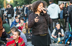 Eviction of squatted refugee school.. third day
