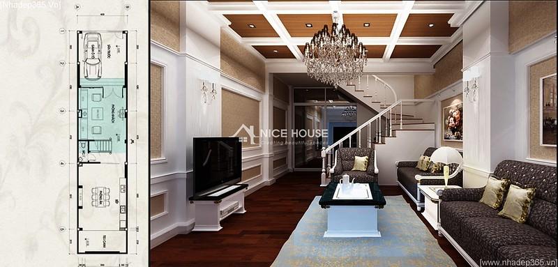 Thiết kế nội thất nhà anh Lý - Hà Đông_05