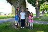 Jacob, Lilianne, Nana, Aidan, Sarah and Rex