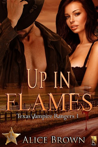 Up in Flames-Texas Vampire Rangers Book 1