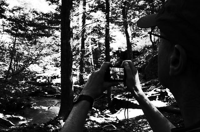 Gary shooting Race Brook