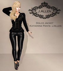 Dolce Jacket - Katherine Pants - J.Allen Coming Soon OMG ROOM
